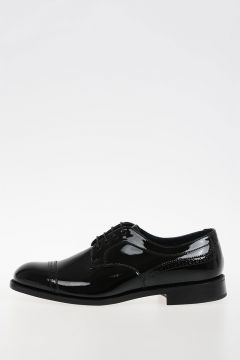 JUNYA WATANABE Brogue Patent Leather Derby Shoes