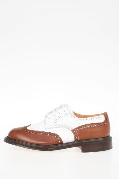 Scarpe Derby Brogues ANNE in Pelle