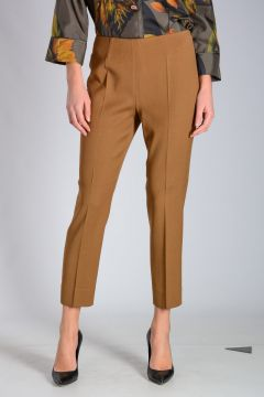 High Waist Capri Trouser
