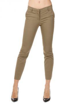 Pantaloni Capri in Cotone Stretch