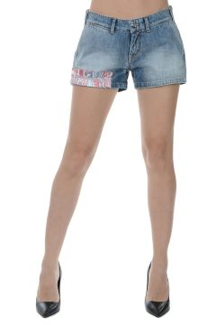 PARALLEL UNIVERSE Hot Pants in Denim