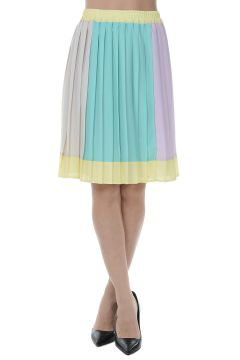 PARALLEL UNIVERSE Pleated Flared Skirt