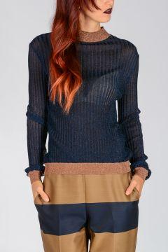 Glitter Viscose Blend Sweater