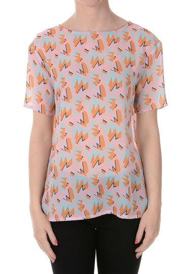 Printed Top in Fabric