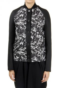 Printed Wool Blended Jacket