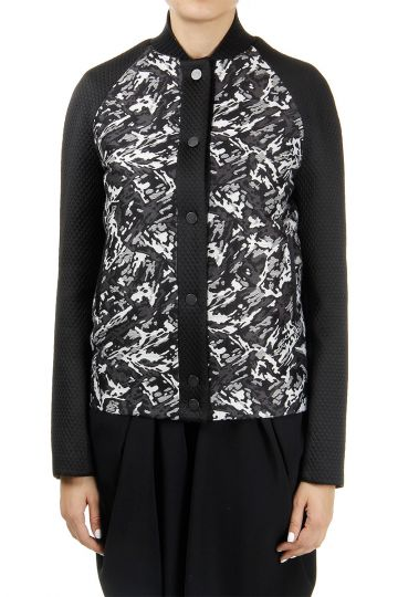 Printed Wool Blended Jacket