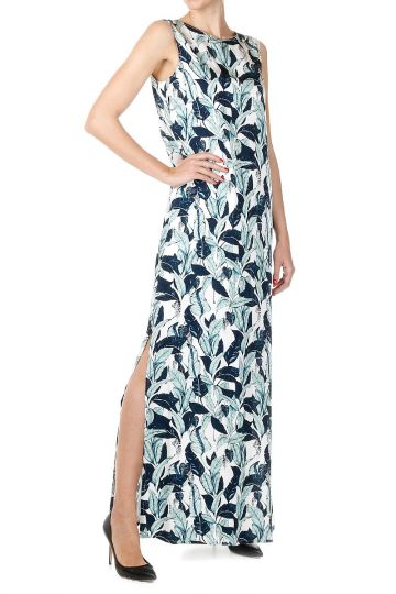 Floral Patterned Long Dress
