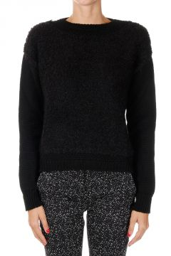 Wool & Mohair Crew Neck Sweater