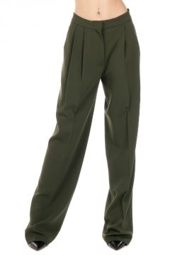 Stretch Fabric WIDE LEG Pants