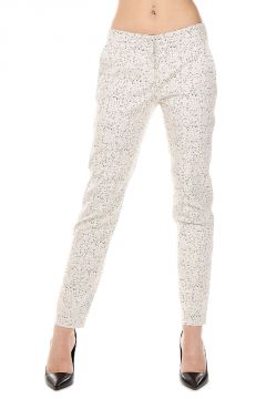 Stretch Fabric Printed Pants