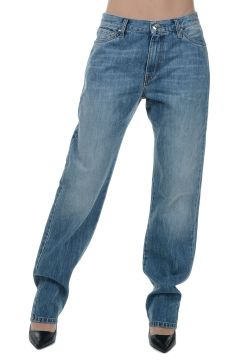 PARALLEL UNIVERSE Stonewashed Denim Jeans 18 CM