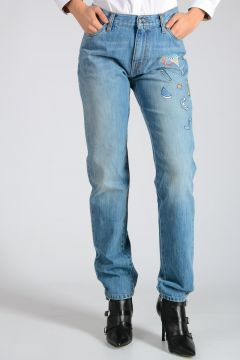 Jeans in Denim Ricamati 16cm