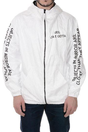 Logo Fabric Bomber Jacket