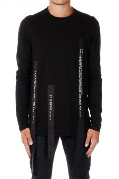 Jersey Cotton Long Sleeves Round Neck T-shirt