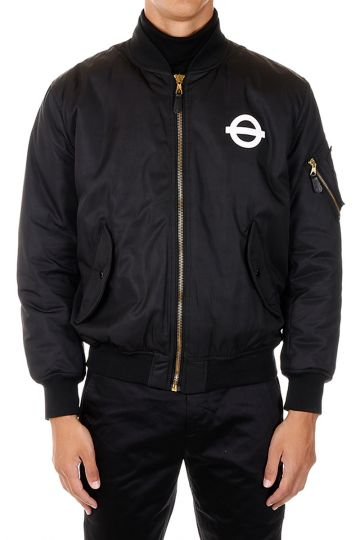 ROUNDEL LONDON Padded Bomber Jacket