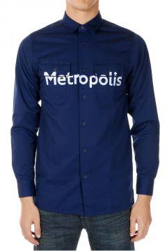 Camicia con Stampa METROPOLIS