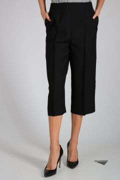 Silk & Virgin Wool Pants