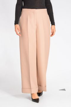 Virgin Wool & Silk Pants