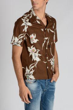 Popeline Cotton short Sleeve Shirt