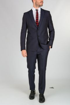 Wool Pinstripe Suit