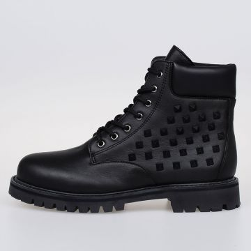 GARAVANI Leather Studded Boots