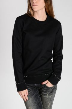 ROCKSTUD UNTITLED .08 Sweatshirt with Studs
