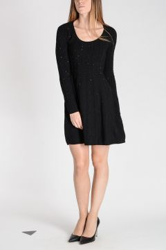 Knitted Dress With Details