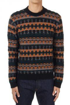 Maglione Girocollo in kashmir e lana