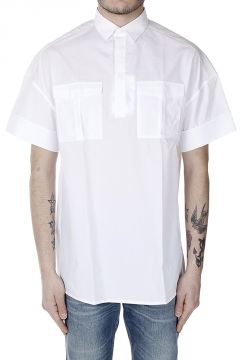 Short Sleeved Shirt with Breast Pockets