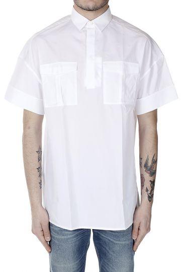 Camicia Maniche Corte con Taschini