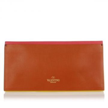 Leather Multicolor Pochette