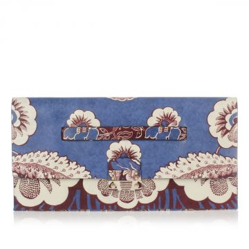 Leather Printed Pochette