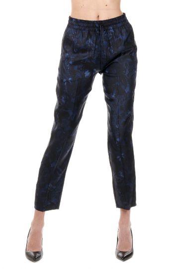 Pantalone Stampati in Seta