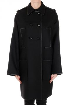 Double Breasted Mixed Virgin Wool Coat