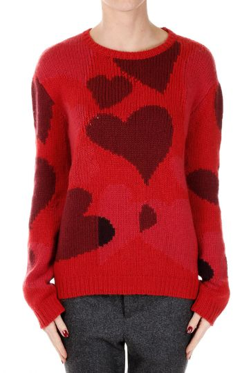 Cashmere Sweater with Heart