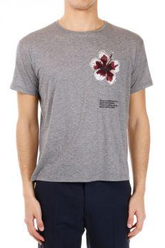 T-shirt in cotone Leggero stampata