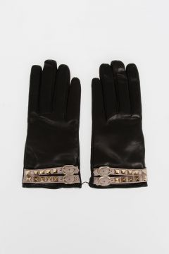 VALENTINO GARAVANI Studded Leather Gloves