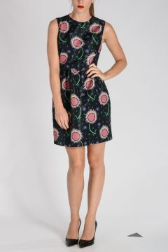RED VALENTINO Printed POUF dress