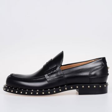 GARAVANI Leather Studded Loafer