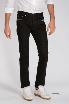 ROCKSTUD UNTITLED 06 17 cm Studded Denim Jeans