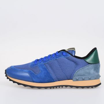 GARAVANI Fabric and Leather Sneakers