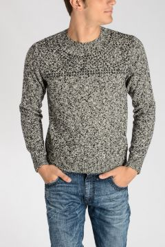 Studded Virgin Wool Sweater