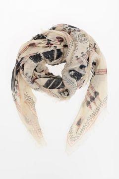 Foulard LOVEBLADE in Seta 130x130 cm