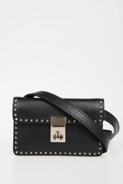 VALENTINO GARAVANI Leather Studded Mini Bag