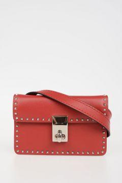 VALENTINO GARAVANI Leather Studded Mini Bag
