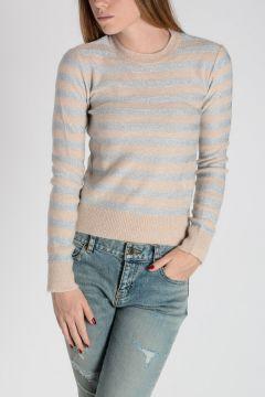 Glitter Striped Sweater