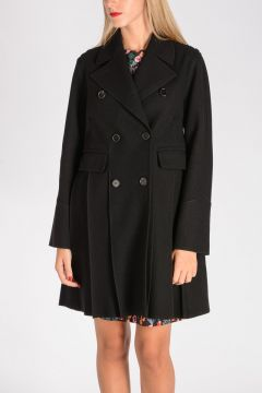 Virgin Wool Peacoat