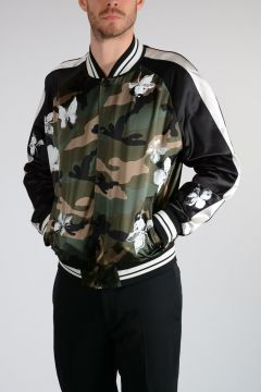 SOUVENIR JACKET Camouflage Bomber