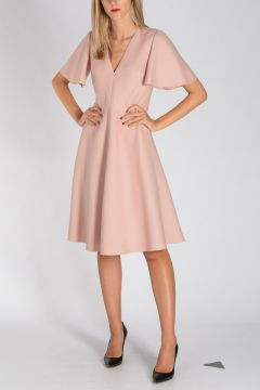 Virgin Wool & Silk Dress