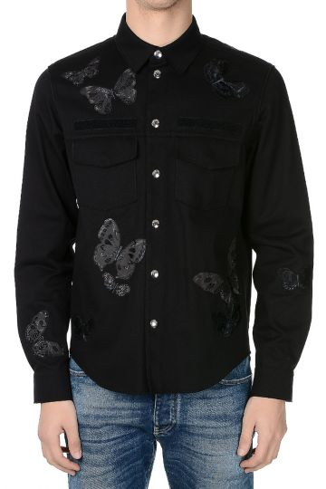Printed Shirt in Cotton